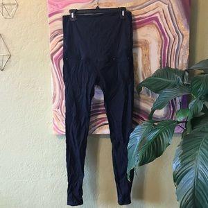 H&M maternity dark leggings sz8
